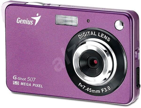 Genius G-Shot 507 fialový - Digitální fotoaparát