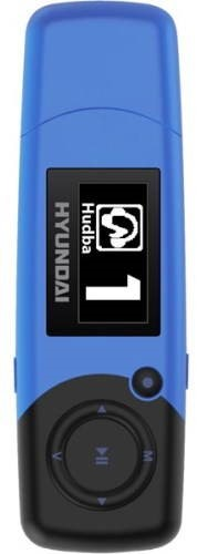 Hyundai MP 366 FMBL 4GB modrý - MP3 přehrávač