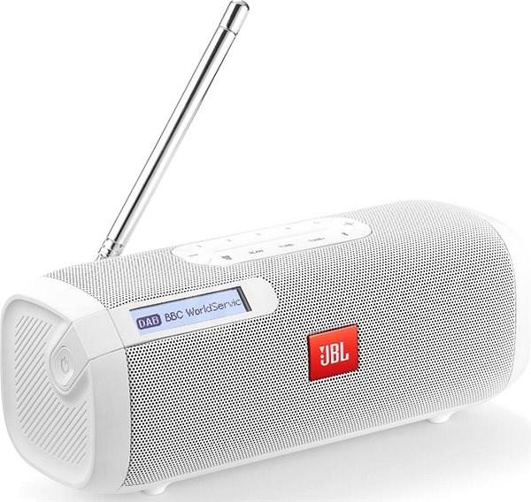 JBL Tuner bílý - Bluetooth reproduktor