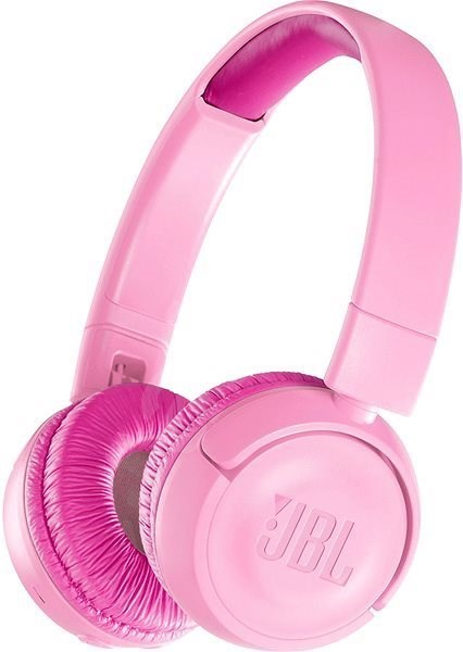 JBL JR300BT růžová - Bezdrátová sluchátka
