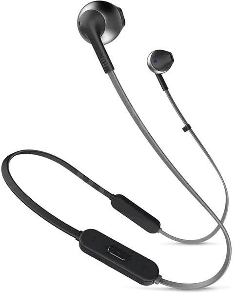 JBL T205 BT černá - Bezdrátová sluchátka
