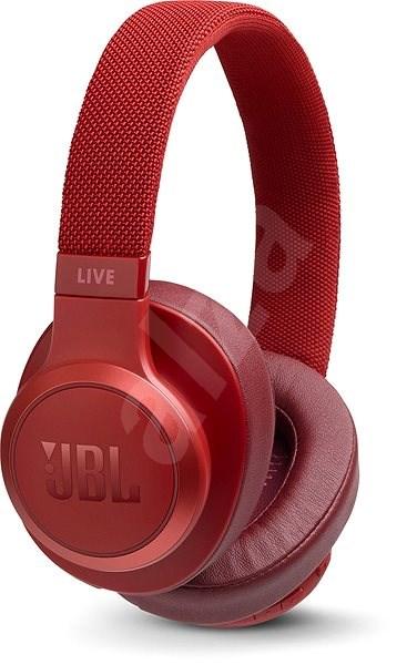 JBL Live 500BT červená - Bezdrátová sluchátka