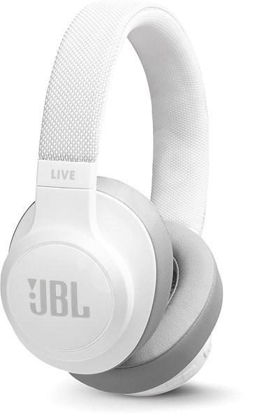 JBL Live 500BT bílá - Bezdrátová sluchátka