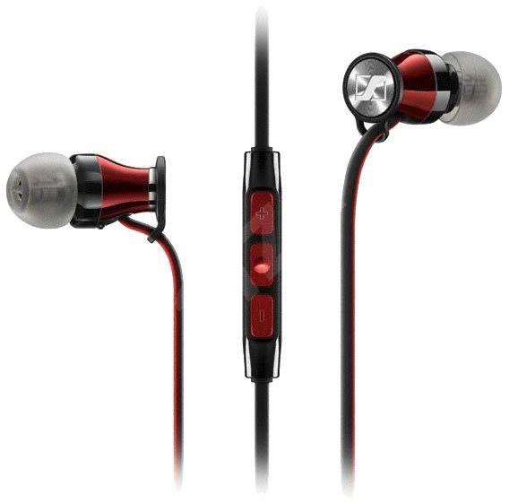 Sennheiser MOMENTUM In-Ear G Black-Red - Sluchátka