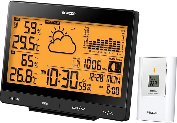 SENCOR SWS 5551 - Weather Station