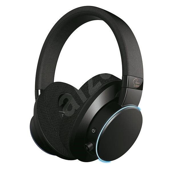 Creative Super X-FI AIR černé - Bezdrátová sluchátka