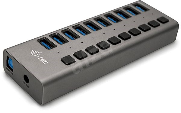I-TEC USB 3.0 Charging HUB 10 port + Power Adapter 48 W - USB Hub
