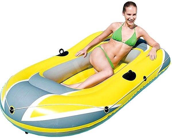 Nafukovací člun žlutý - Nafukovací atrakce