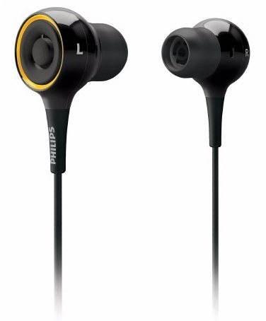Philips SHE6000/10 černá  - Sluchátka