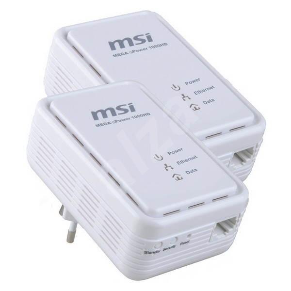MSI Homeplug ePower 1000HD KIT - Síťové karty