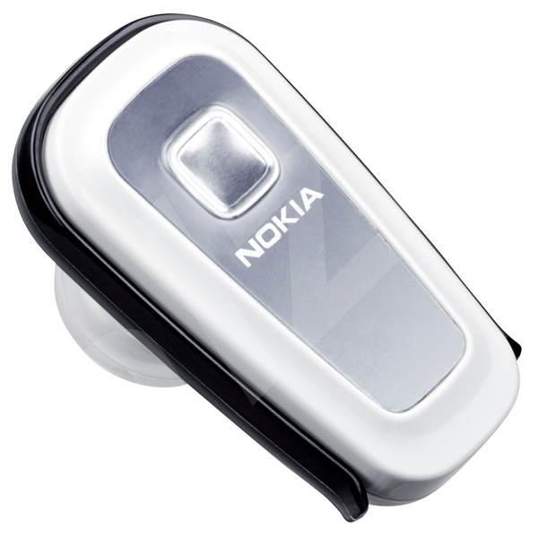 Bluetooth Hands Free Nokia BH-300 stříbrné -