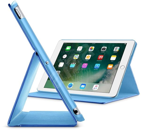 "CellularLine FOLIO pro Apple iPad 9.7"" (2018) modré - Pouzdro na tablet"