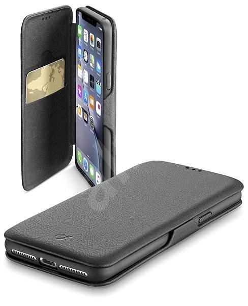 CellularLine Book Clutch pro Samsung Galaxy S10 černé - Pouzdro na mobilní telefon