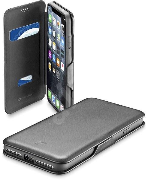 CellularLine Book Clutch pro Apple iPhone 11 Pro černé - Pouzdro na mobilní telefon