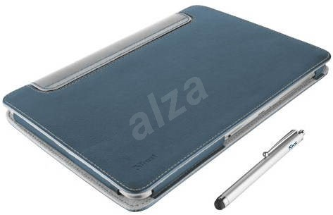 Trust Eliga Folio Stand & Stylus - modré - Pouzdro na tablet
