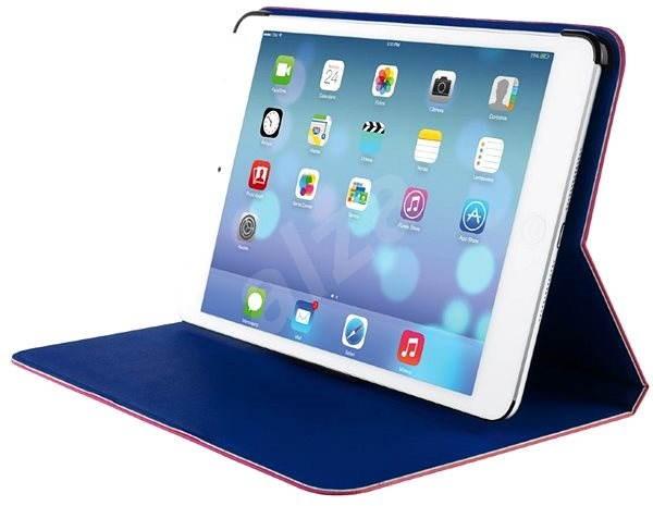 Trust Aeroo Ultrathin Folio Stand for iPad Air - růžové/modré - Pouzdro na tablet