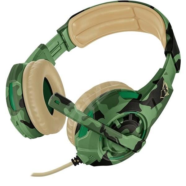 Trust GXT 310C Radius Gaming Headset - jungle camo - Herní sluchátka