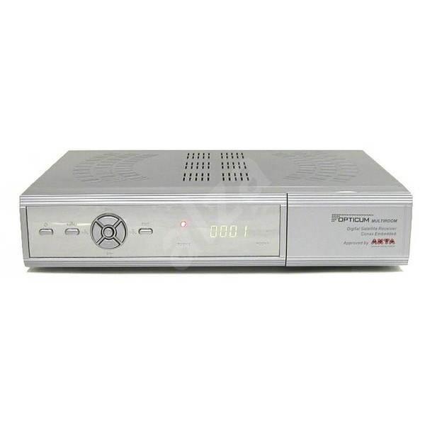 Opticum Multi7100 stříbrný - Satelitní přijímač