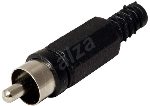 OEM Konektor cinch(M), černý  - Konektor