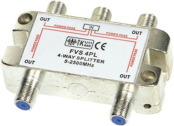 FVS 4P, 4 směry  - Rozbočovač