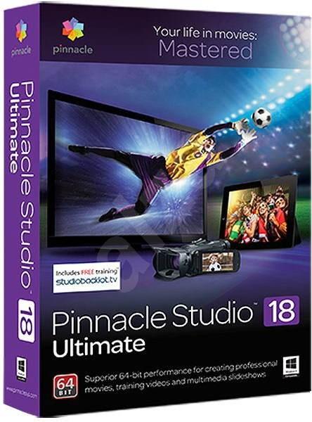 Pinnacle Studio 18 Ultimate ML - Střihový software