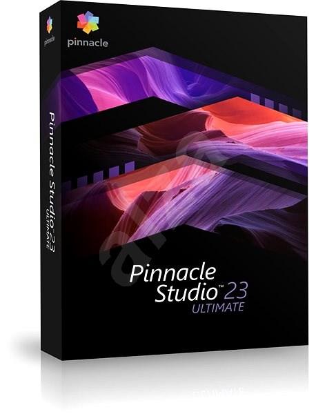 Pinnacle Studio 23 Ultimate (BOX) - Střihový software