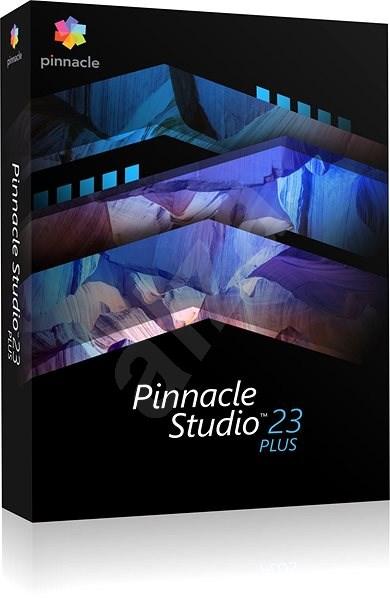 Pinnacle Studio 23 Plus (BOX) - Střihový software