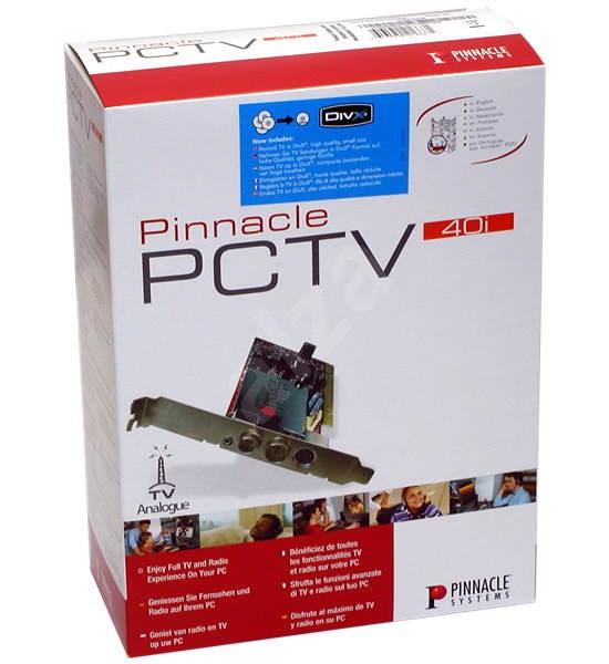 Pinnacle PCTV MediaCenter 40i - TV tuner, PCI karta, software -