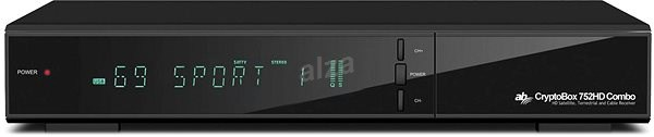 AB CryptoBox 752HD Combo DVB-T2/S2/C - Satelitní přijímač