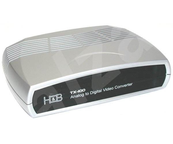 H&B TX-100, USB2.0 externí HW převodník do DivX+MPEG-1/2/4 - Karta