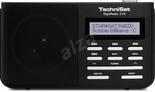 TechniSat DigitRadio 210 DAB+ - Rádio