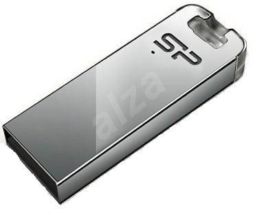 Silicon Power Touch T03 Silver 4GB - Flash disk