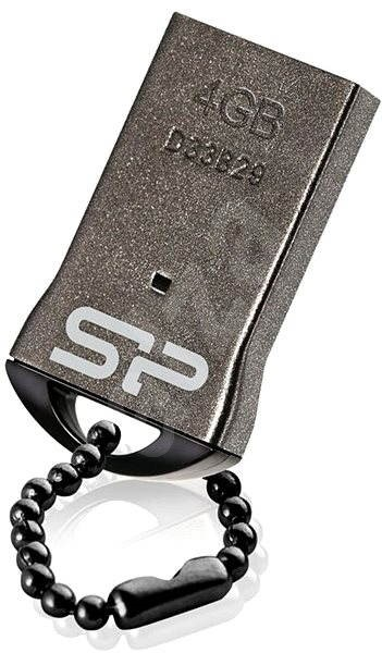 Silicon Power Touch T01 Black 4GB - Flash disk