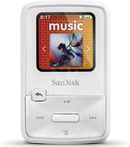 5d68fc88b SanDisk Sansa Clip Zip 4GB bílý - MP3 přehrávač | Alza.cz