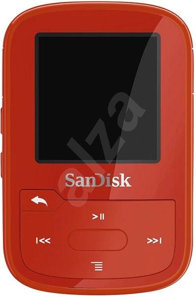 SanDisk Sansa Clip Sports Plus 16GB červený - FLAC přehrávač