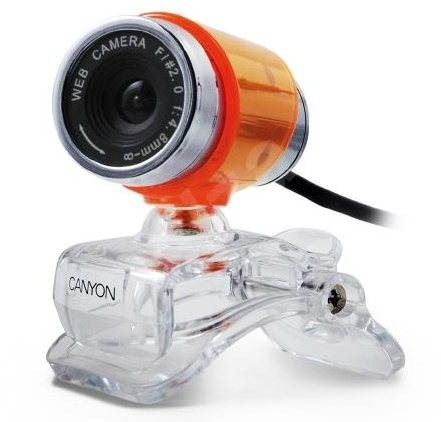 Canyon CNR-WCAM813 oranžovo-stříbrná - Webkamera