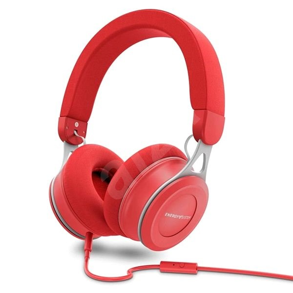 Energy Sistem Headphones Urban 3 Mic Red - Sluchátka