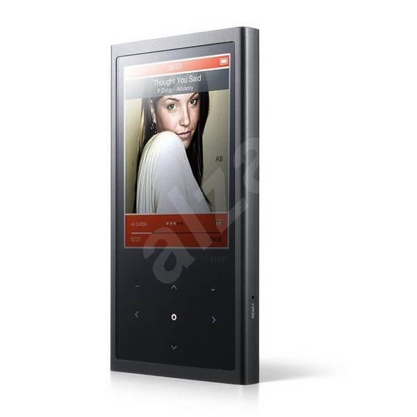 iRIVER E200 4GB černý - MP4 přehrávač