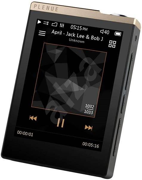 COWON Plenue D 32GB - černo/zlatý - FLAC přehrávač