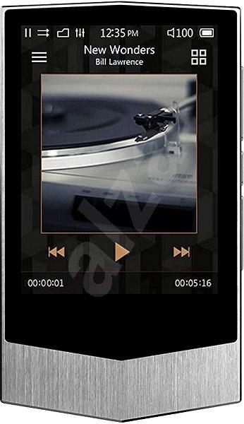 COWON Plenue V 64GB stříbrný - FLAC přehrávač