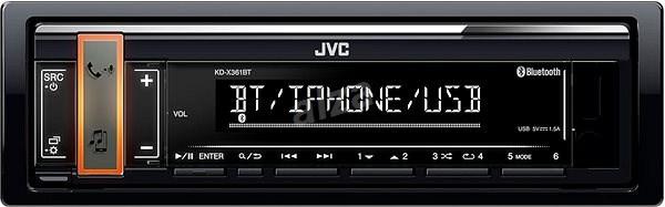 JVC KD-X361BT - Autorádio
