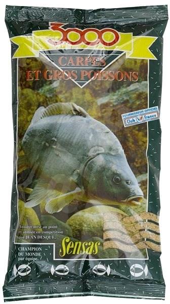 Sensas 3000 Carpes 1kg - Vnadící směs