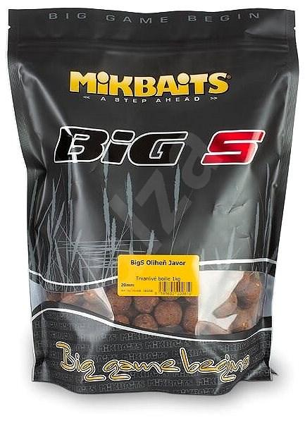 Mikbaits BiG Boilie BigS Oliheň Javor 20mm 1kg - Boilies