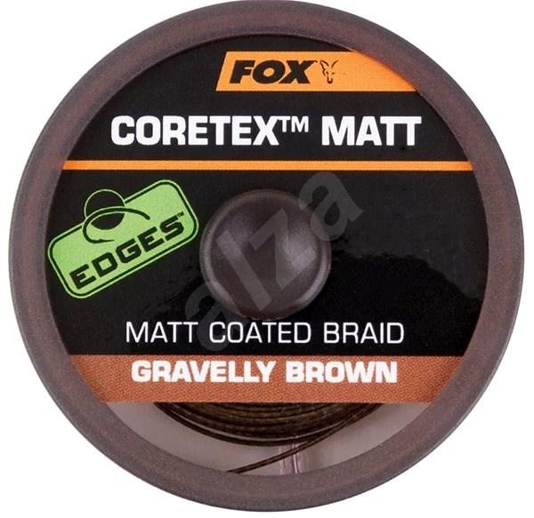 FOX - Šňůra Coretex Matt 11,3kg 25lb 20m Gravelly Brown - Šňůra