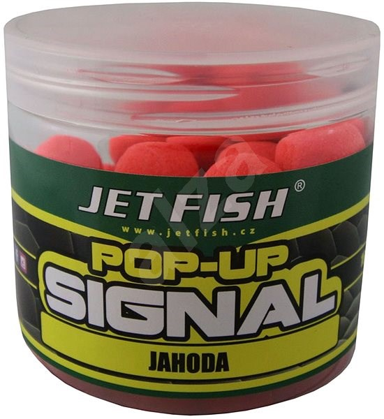 Jet Fish Pop-Up Signal Jahoda 16mm 60g - Pop-up boilies
