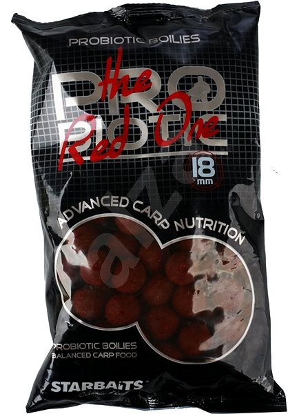 Starbaits Boilie Probiotic The Red One 20 mm 1kg - Boilies