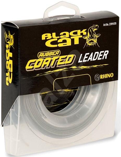 Black Cat Rubber Coated Leader 100kg 20m - Šňůra