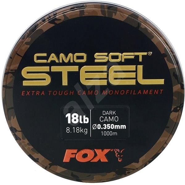FOX - Vlasec Soft Steel 0,350mm 8,2kg 18lbs 1000m Dark Camo - Vlasec