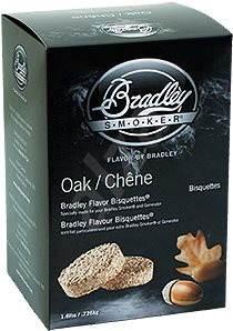 Bradley Smoker - Brikety Dub 120 kusů - Brikety