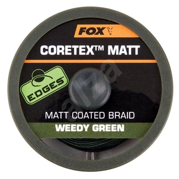 FOX - Šňůra Coretex Matt 15,8kg 35lb 20m Weedy Green - Šňůra